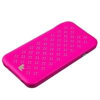 """Розовый кожаный чехол Jisoncase Executive Flip Case для iPhone 6s / 6 (4.7"""")"""