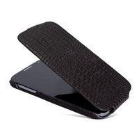 Кожаный чехол Borofone для Samsung Galaxy S4 - Borofone Crocodile Leather Case Brown