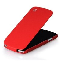 Кожаный чехол HOCO для Samsung Galaxy S4 - HOCO Duke flip Leather Case Red