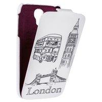 Чехол книжка Fashion для Samsung Galaxy S4 Лондон