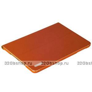 Коричневый чехол книжка подставка Birscon для iPad mini 3 /2 - Birscon Cool series Brown
