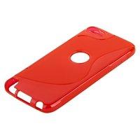 Силиконовый чехол для iPod touch 5 жесткий красный