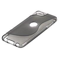 Силиконовый чехол для iPod touch 5 жесткий серый