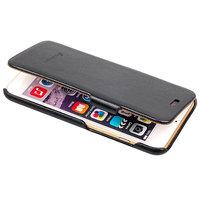 Черный чехол книжка Fashion Case для iPhone 6s Plus/ 6 Plus (5.5) - Leather Book Case Black