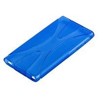 Силиконовый чехол  для iPod nano 7 голубой
