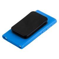 Силиконовый чехол прищепка для iPod nano 7 голубой