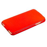 Красный чехол книжка Fashion Case для iPhone 6s Plus/ 6 Plus (5.5) - Leather Book Case Red