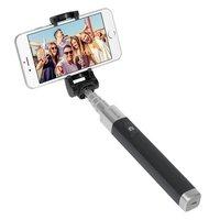 Монопод для селфи Deppa Selfie Pocket Pro беспроводной (Bluetooth) D-45008 алюминиевый, 180-700мм Графитовый