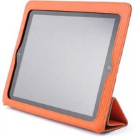 Оранжевый чехол книжка с рамкой Yoobao для iPad 4 / 3 / 2 - Yoobao iSmart Leather Case Orange