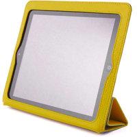 Желтый чехол книжка с рамкой Yoobao для iPad 4 / 3 / 2 - Yoobao iSmart Leather Case Yellow