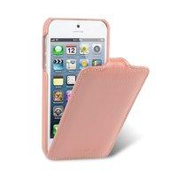 Кожаный чехол Melkco для iPhone 5c розовый - Leather Case Jacka Type (Pink LC)