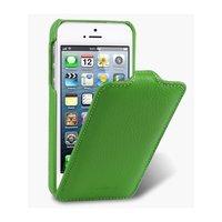 Кожаный чехол Melkco для iPhone 5c зеленый - Leather Case Jacka Type (Green LC)