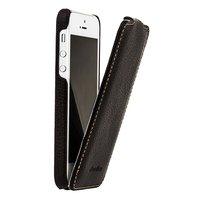 Кожаный чехол Melkco для iPhone 5c коричневый - Leather Case Jacka Type (Brown LC)