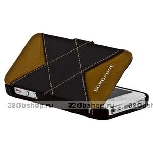 Кожаный чехол Borofone для iPhone 5s / SE / 5 - Borofone Victory Folder case
