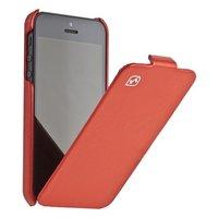 Кожаный чехол HOCO для iPhone 5 / 5s / SE - HOCO Duke Leather Case red