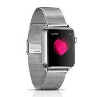 Металлический браслет i-Carer для Apple Watch 42мм стально - i-Carer Milan Steel Watchband Series Silver