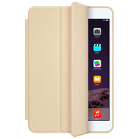 Золотой чехол обложка с задней крышкой для iPad mini 4 - Apple Smart Case Gold