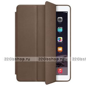 Коричневый чехол смарт кейс для iPad Pro 9.7 - Smart Case Brown