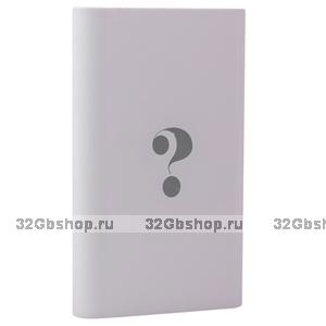 Внешний универсальный аккумулятор Wisdom YC-YDA5 Portable Power Bank 5000mAh ceramic white один выход USB 5V 2 A
