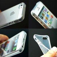 Чехол накладка для iPhone 5s / SE / 5 прозрачный силикон