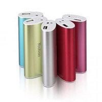 Внешний аккумулятор Yoobao Power Bank YB-6012 Red 5200 mAh один выход USB 5V 1A - красный