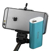 Внешний аккумулятор Yoobao Bluetooth Selfie Power Bank S2 Blue 5200 mAh один выход USB 5V 2.1A