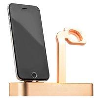 Док-станция для Apple Watch & iPhone - COTEetCI Base 6 Dock Gold - Золотистая