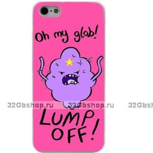 Пластиковый чехол накладка для iPhone 6s / 6 с рисунком Lumpy Space Princess Adventure Time - Принцесса Пупырка