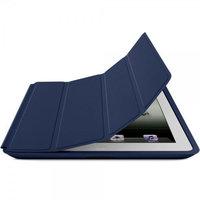 Чехол книжка Smart Case Blue для iPad 4 / 3 / 2 синий