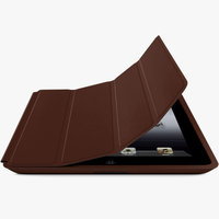 Чехол книжка Smart Case Brown для iPad 4 / 3 / 2 коричневый