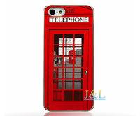 Пластиковый чехол накладка для iPhone 5s / SE / 5 с рисунком Лондон - телефон