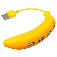USB Hub 2.0 - 4 выхода Банан