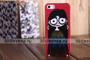 Накладка-чехол Ugly Girl Marc by Marc для iPhone 5 / 5s / SE