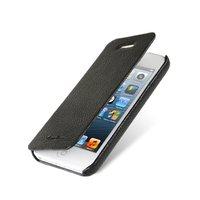 Чехол книжка Melkco для iPhone 5C черный Leather Case Face Cover Book Type (Black LC)