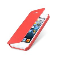 Чехол книжка Melkco для iPhone 5C красный Leather Case Face Cover Book Type (Red LC)