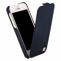 Кожаный чехол HOCO для iPhone 5C - HOCO Duke Leather Case Blue