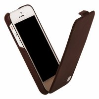 Кожаный чехол HOCO для iPhone 5C - HOCO Duke Leather Case Brown