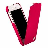 Кожаный чехол HOCO для iPhone 5C - HOCO Duke Leather Case Rose Red