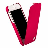Кожаный чехол HOCO для iPhone 5C - HOCO Duke Leather Case Rose Red