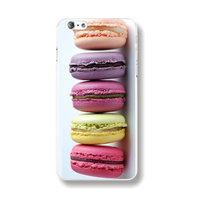 Пластиковый чехол накладка для iPhone 6s / 6 с рисунком печенье Мфкарони