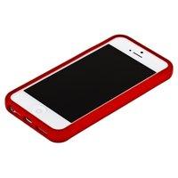 Красный бампер для iPhone 5C с красной полосой