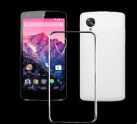 Прозрачный силиконовый чехол для Google Nexus 5 - Silicone Case transparent clear