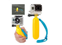 Ручка - поплавок желтого цвета для камеры Go Pro Hero 4 / 3 + / 3
