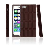 Силиконовый чехол для iPhone 5s / SE / 5 Плитка шоколада