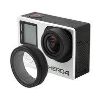 Защитное стекло - крышка объектива для камеры Go Pro Hero 4 / 3 + / 3