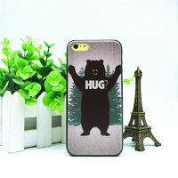 Пластиковая накладка для iPhone 5c bear hug
