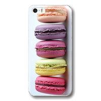 Пластиковый чехол накладка для iPhone 5c печенье (Макарони или Макаронс, macarons)
