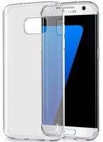 Прозрачный силиконовый чехол для Samsung Galaxy S7 Edge