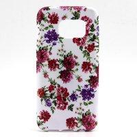 Cиликоновый чехол для Samsung Galaxy S7 с рисунком цветы