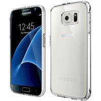 Тонкий прозрачный силиконовый бампер для Samsung Galaxy S7